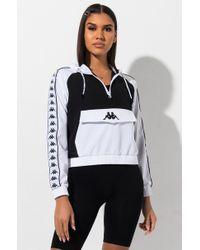Kappa Banda Banskey Logo Sweatshirt Hoodie - Black
