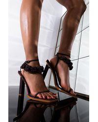 AKIRA - On My Own Time Stiletto Sandal - Lyst