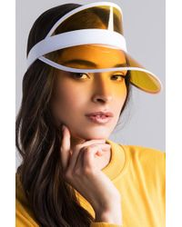 AKIRA - On The Run Clear Visor - Lyst