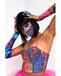 AKIRA Paint The City Gloves - Multicolour