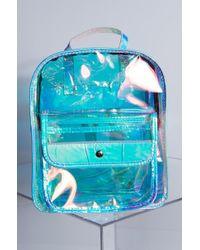 AKIRA - Take It Easy Clear Backpack - Lyst