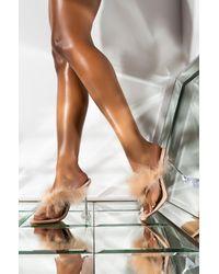 AKIRA Buss It Stiletto Sandal - Natural