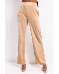 AKIRA Keep Up Flared Sweatpants - Natural