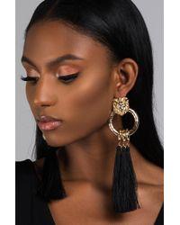 AKIRA - Lioness Luxe Earring - Lyst