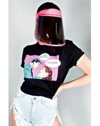 AKIRA Back Up Mirrored Face Shield - Multicolour