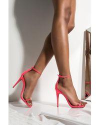 Women's Red Beyond The Sun Platform Sandal