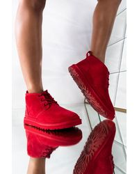 UGG - Classic Neumel Lace Up Boots - Lyst