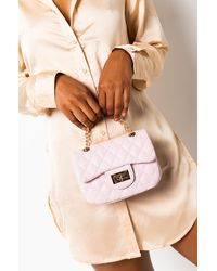 AKIRA I Can Feel It In The Air Chain Strap Purse - Pink