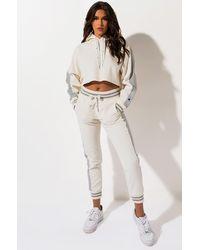 Champion Reverse Weave Side Panel Corduroy Pant - White