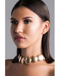 AKIRA - Gift From The Gods Statement Necklace - Lyst