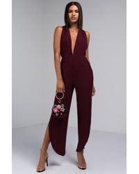 AKIRA - What's Your Name Jumpsuit - Lyst