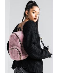 AKIRA - Needed Furry Backpack - Lyst