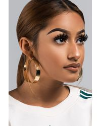 AKIRA - Never Had Better Hoop Earring - Lyst