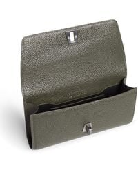 Akris Small Belt Bag In Cervo Leather With Detachable Belt - Green