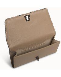 Akris Belt Bag In Cervocalf Leather With Detachable And Adjustable Wide Elastic Belt - Multicolor