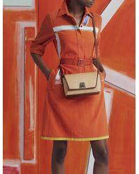 Akris Raffia Crossbody Bag - Multicolor