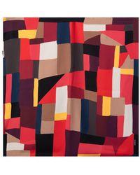 Akris Printed Silk Scarf - Multicolor