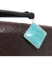Akstar Gems Amazonite Gemstone Pendant - Multicolor