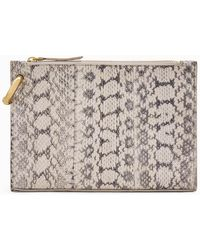 A.L.C. Joni Patterned Snakeskin Handbag - Multicolor