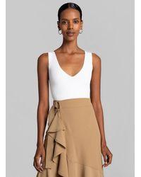 A.L.C. Iris Bodysuit - White