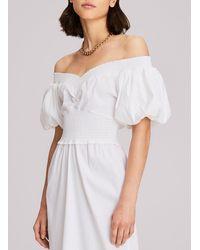A.L.C. Adena Midi Dress - White