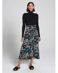 A.L.C. Mabelle Skirt - Blue