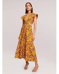 A.L.C. Alexandria Cotton Dress - Multicolor
