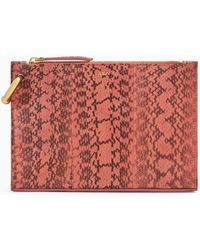 A.L.C. Joni Patterned Snakeskin Handbag - Multicolor