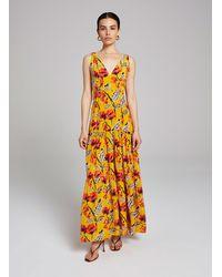 A.L.C. Rae Silk Dress - Yellow