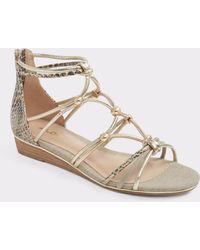 ALDO - Muriele Gladiator Flat Sandals - Lyst