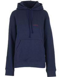 CALVIN KLEIN 205W39NYC Midnight Blue Hooded Sweatshirt