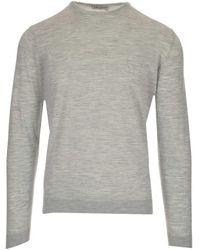 Al Duca d'Aosta Maglia Slim Fit - Grey