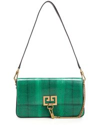 Givenchy - Charm Bag In Green Leather - Lyst