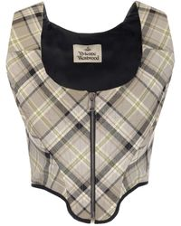 Vivienne Westwood Corset-style Top - Natural