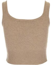 FEDERICA TOSI - Knit Top - Lyst