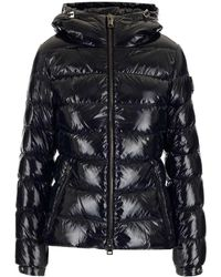 Herno Lacquered Nylon Down Jacket - Black
