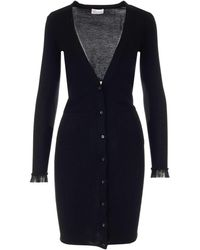 RED Valentino Other Materials Dress - Black