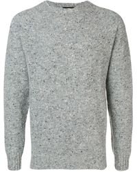 Howlin' By Morrison Crew Neck Jumper - Gray