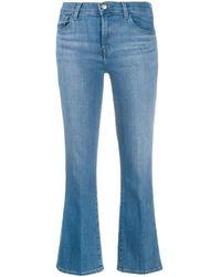 J Brand Selena Jeans Bootcut Azzurro - Blue
