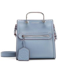 """Alexander McQueen """"the Short Story"""" Handbag - Blue"""
