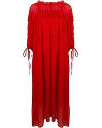 Rejina Pyo Tia Midi Dress - Red