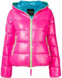 Duvetica Hooded Puffer Jacket - Pink