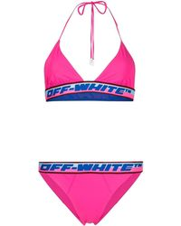 Off-White c/o Virgil Abloh - Pink Logo Bikini - Lyst