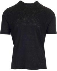 Al Duca d'Aosta Crewneck Black T-shirt