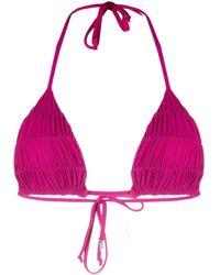 Fisico Triangle Bikini Top - Multicolour