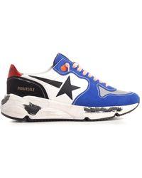 """Golden Goose Deluxe Brand """"running Sole"""" Sneakers - Blue"""