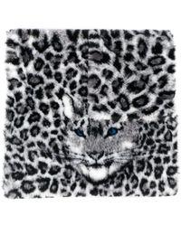 Alberta Ferretti Animalier Scarf - Multicolour