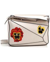 "Loewe ""puzzle Pansies"" Small Hand Bag - Multicolor"