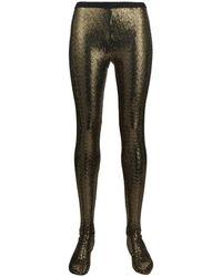 Gucci Collant in paillettes - Metallizzato
