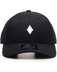 "Marcelo Burlon Cappello Da Baseball ""cruz"" - Black"